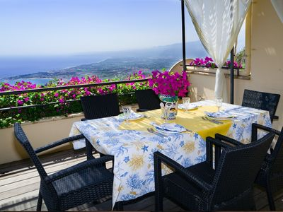 Photo for Artist home in Taormina with parking