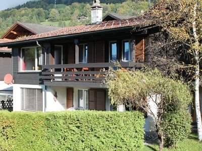 Photo for Comfort vacation apartment on the foot of the Rothorn in sunny, quiet location