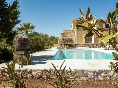 Photo for leisurely holiday in complete privacy with pool, sea views and beach nearby