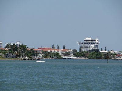 View of Spinners Restaurant from Lanai