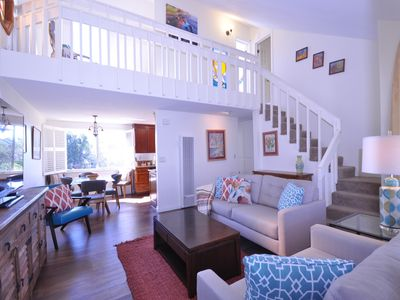 Photo for Stained Glass Loft By The Sea - 3 Bedroom/1.5 Bath Monthly Rental