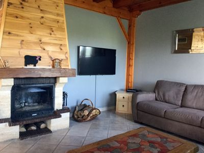 Photo for House any comfort, 8 pers., Chimney, foot of the tracks, 5 mn with feet of the village