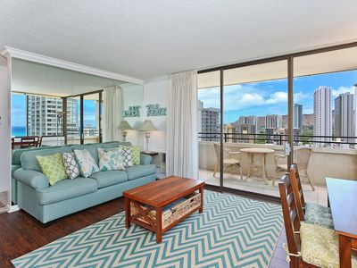 Photo for AMAZING Waikiki Sky Tower Condo - Close Walk to Everything!