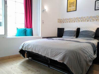 Photo for HYPER center, WIFI, all charges included, Dieppe, 3 persons,