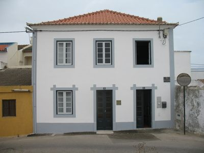 Photo for authentic Villa next to beach, within historical walls of Peniche with oceanview
