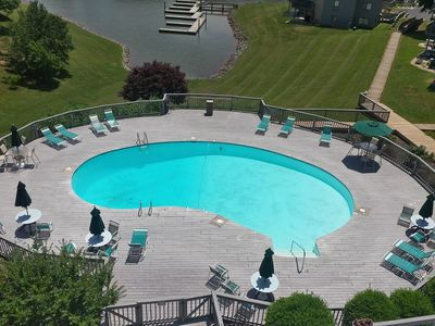 One of three pools right outside your condo