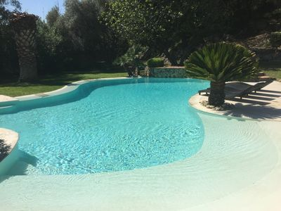 Photo for EXCEPTIONAL and RARE, 3km Aubagne, 15km Marseille, Luxury farmhouse, hill, swimming pool