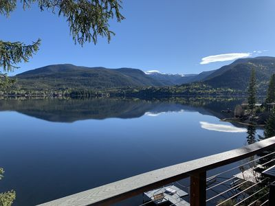 Photo for Year-Around Cabin right on Grand Lake with awe-inspiring views and private dock