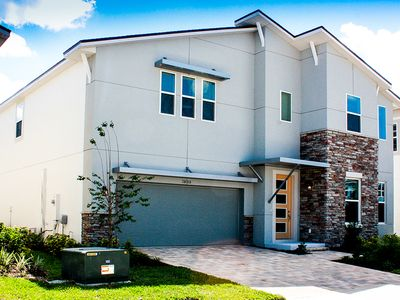 Photo for 8 bedroom brand new, Custom designed home - closest to Disney