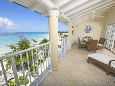 Photo for Modern Beachfront Condo with Pool - Sapphire Beach 509