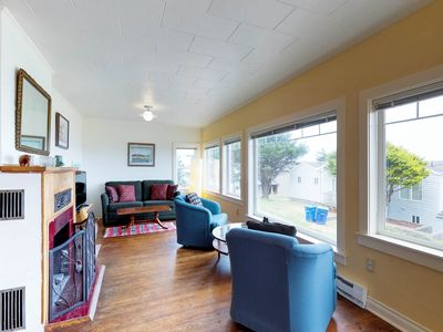 Photo for Dog-friendly cottage w/amazing ocean views, whale watching