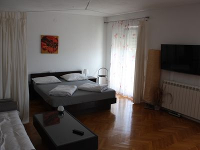 Photo for Second Floor 2- room apartment, 2x bathroom, 2x air conditioning, balcony, panoramic sea view