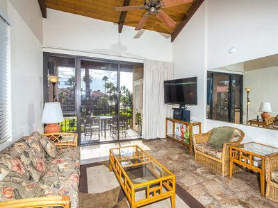 Photo for Suite Paradise! Kitchen Perks, Washer/Dryer, WiFi, Scenic Lanai–Kamaole Sands 1402