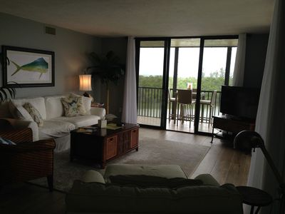 Photo for Great unobstructed water views from every Room & 5 minute walk to beach