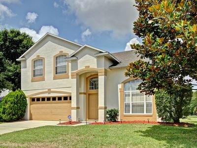 Photo for Disney 3 miles!, Villa w/Private Pool, Hot Tub, free wifi, NEW water park nearby