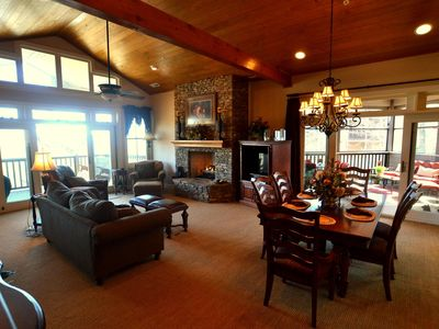 Photo for Luxurious condo with long range mtn views in Old Edwards Club