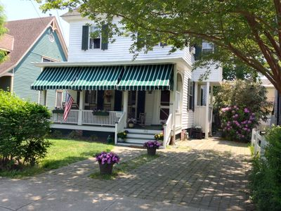 Photo for Family Vacation Home (pets welcome), Historic District, WALK to everything!