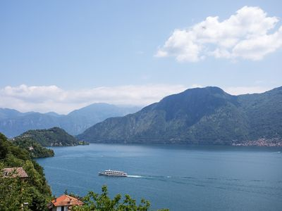Photo for Apartment In Residence Sala Comacina, Lake Como With Pool