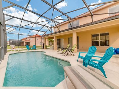 Photo for Clubhouse Open! Gated Resort, Private Pool, Covered Lanai, Game Rm -Relax Here!
