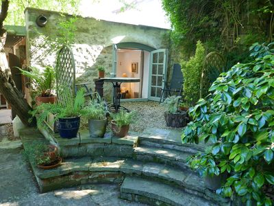 Photo for New! Quirky 'Little Angel' Garden Apartment Nr. Cheddar