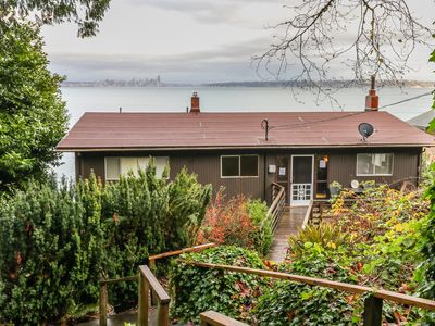 Photo for NEW LISTING! Waterfront, multi-family home w/ furnished decks & beach access