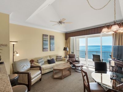 Photo for ** BEAUTIFUL PENTHOUSE ** 1BR. & 1 BA. Long Beach Resort! Free Beach Chairs.