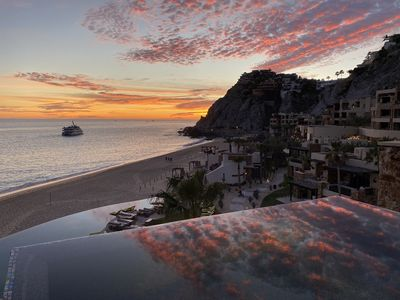 Watch the sunset from your private plunge pool.