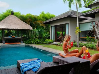 Photo for Two Bedroom Villas with Panoramic View in Nusa Dua Hills