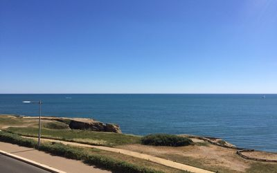 Photo for Superb sea view at 50 m from the beach at Saint Hilaire de Riez