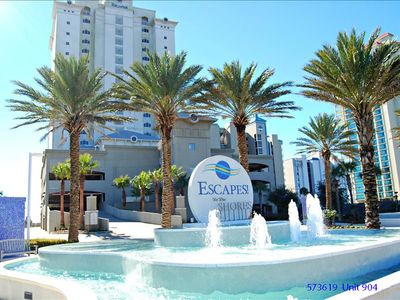 Photo for Escapes! Unit 904 Luxurious Gulf Front Condo Large 2BR 2BA