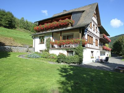 Photo for Cosy apartment with balcony at the edge of the Rothaar Mountains