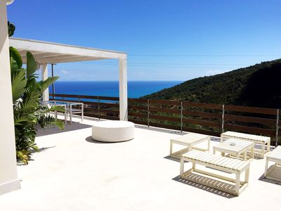 Photo for Villa Sicily, enjoys fantastic views and privacy, close beautiful Cefalu '