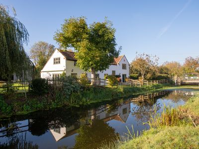 Photo for *NEW* Peaceful Riverside Five Bedroom Cottage in Somerset