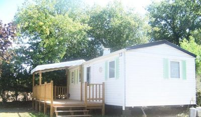Photo for Camping Les Alouettes **** - Mobil Home Privilege 4 Rooms 6/7 People