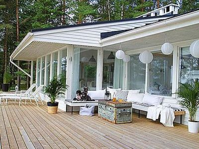 Photo for Vacation home Villa dyyni in Kirkkonummi - 8 persons, 2 bedrooms