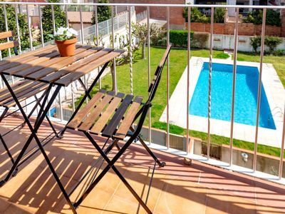 Photo for 3 bedroom Apartment, sleeps 5 in Malgrat de Mar with Pool and WiFi