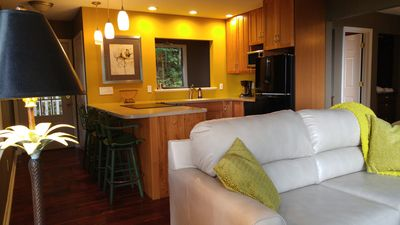 Photo for Mtn View, Forest, Couples BUNGALOW , hot tub, view, WiFi, near Biltmore & dwntwn