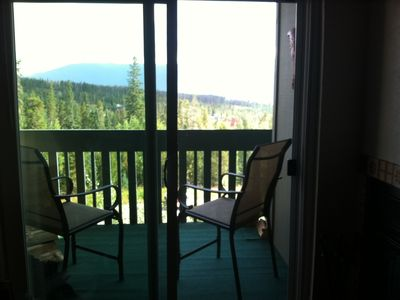 Photo for Condominium with a View & Close to Skiing, Too
