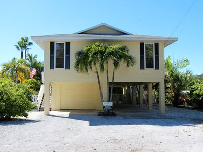 Photo for Beautiful AMIBeachClub north end elevated pool home. Minutes walk to the Gulf.