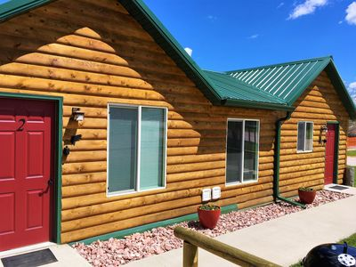 Photo for Large Duplex Cabin, located 2 blocks from downtown Custer!