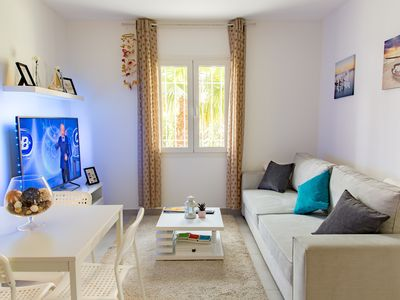 Photo for 50m² apartment refurbished, air conditioned, comfortable and pleasant