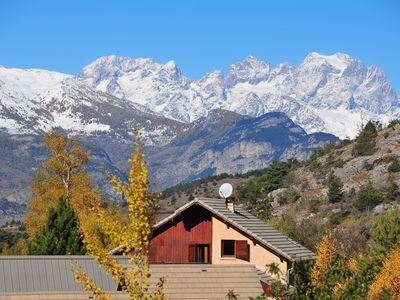 Photo for Family cottage 12 pers Guillestre Queyras splendid view of the Ecrins