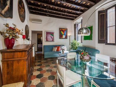 Photo for 2 bedroom apartment near the Spanish Steps and right next to all famous shops in Rome