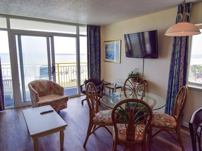 Photo for Oceanfront Baywatch 322! 2 BR Oceanfront View and Amenities. Book now for best rate!