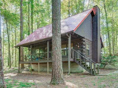 Photo for Red Roof Cabin in the woods