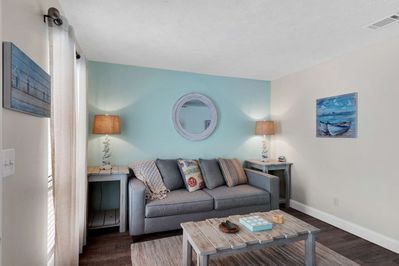 Relax in this spacious living room for your enjoyment
