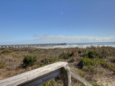 Photo for Remodeled Oceanfront Condo!! Community Pool & Fishing Pier!! Awesome Location, easy walking distance to shops, great restaurants, grocery store, county park, and more!!