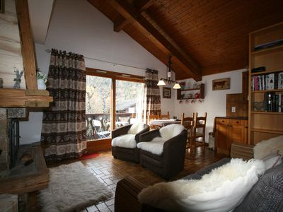 Photo for Comfy, Cosy Alpine Style Apartment, With Fireplace And Fantastic Views