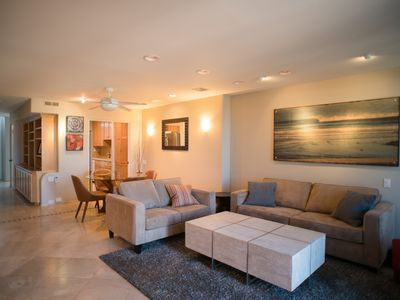 Photo for Beach Please - Walk to Everything! 2 BR Condo