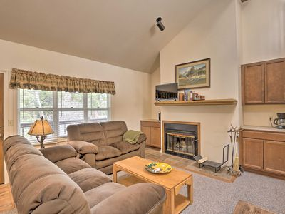 Photo for NEW! Grand Lake Condo w/ Fireplace, Walk to Water!